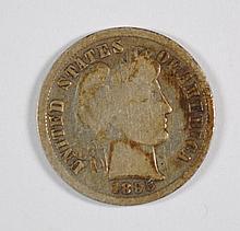 1895 BARBER DIME G-VG KEY COIN