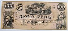 18- $100 CANAL BANK (NEW ORLEANS, LA) CH CU