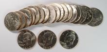 BU ROLL 1973 EISENHOWER DOLLARS BETTER DATE