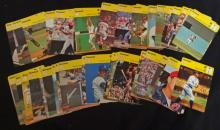 1977-79 SPORTS CASTERS LOT (64) DIFFERENT BASEBALL PLAYERS - LOADED with STARS -