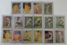 1957 TOPPS BALTIMORE ORIOLES TEAM LOT (16 CARDS)
