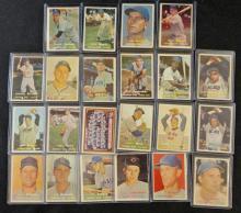 1957 TOPPS CHICAGO CUB TEAM LOT (22 CARDS) BAKER
