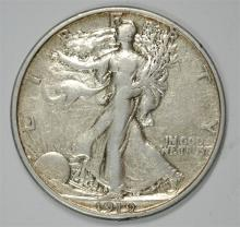 1919-S WALKING LIBERTY HALF DOLLAR XF/AU VERY RARE! KEY!