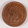 1904 INDIAN HEAD CENT, MS-62 RED/BROWN