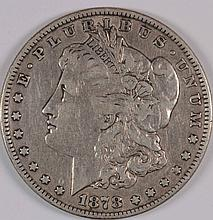 1878 7TF MORGAN DOLLAR VF+