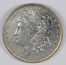 1883-O Morgan Dollar AU-58 (Beautiful Toning)