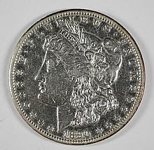 1890 CC MORGAN DOLLAR XF+