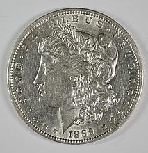 1889-O MORGAN DOLLAR AU/UNC