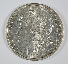 1879-O MORGAN DOLLAR AU+