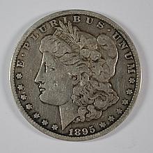 1895-O MORGAN DOLLAR VG-FINE KEY DATE