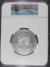2015 (5 OZT .999 FS) HOMESTEAD NGC SP-70 (EARLY RELEASE)