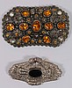 Lot of Two Vintage Costume Jewelry Pins/Brooches