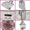 New COACH PURSE,  F19675 Gallery Optic Signature Tote
