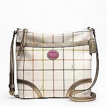 New Coach purse, F20005, Peyton Tattersall File Bag