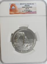 2014 (5 OZT .99 FS) ARCHES NGC SP-70!!!!! (EARLY RELEASE)