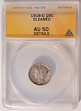 April 22 SILVERTOWNE AUCTIONS RARE COINS & CURRENCY