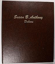 SUSAN B ANTHONY DOLLAR SET, 1979 - 1981, 12 COINS,( NO 79-S II or 81-S II)
