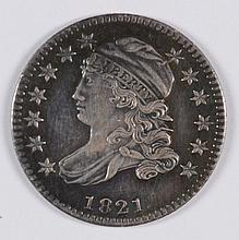 1821 Bust Dime (Small Date) MS-62