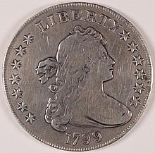 1799 BUST DOLLAR XF (MINOR SCRATCHES)