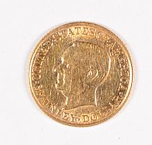 1917 $1 Gold commen McKInley MS65