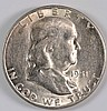1951-S FRANKLIN HALF DOLLAR, BU