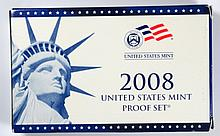 2008 U.S. 14 pcs CLAD PROOF SET, IN SUPERB MINT PACKAGING THIS IS THE BETTER ONE