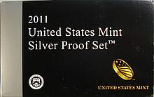 2011 UNITED STATES MINT SILVER PROOF SET IN ORIGINAL PACKAGING
