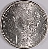 1879 MORGAN SILVER DOLLAR, MS-64 BLAST WHITE,