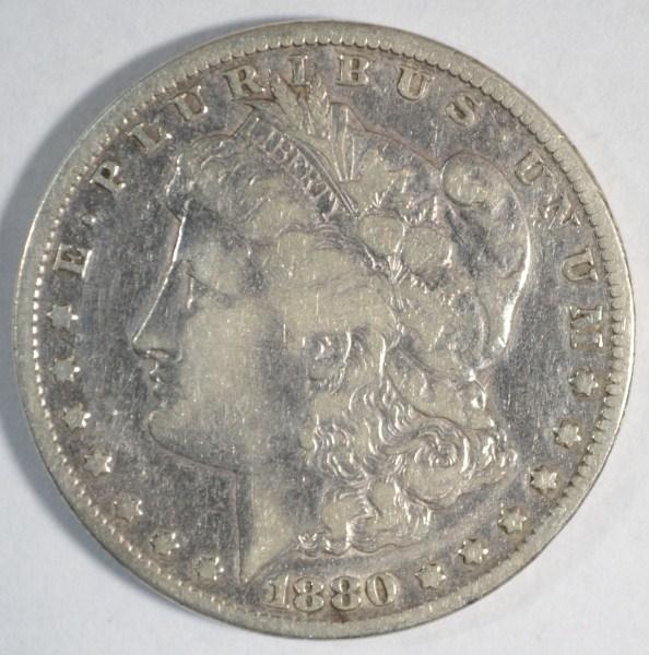 1880CC Morgan $ VF est $180-$190