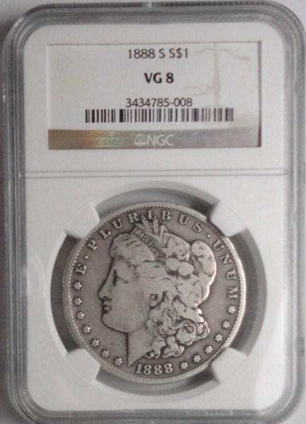 1888S Morgan $ NGC08