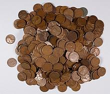 ( 1000 ) 1939 AND EARLIER LINCOLN WHEAT CENTS MIXED DATES, ALL NICE CIRCULATED