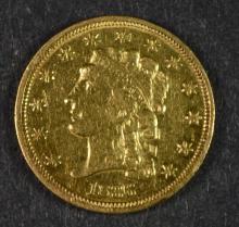 1836 $2.50 CLASSIC HEAD GOLD AU