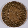 1863 CIVIL WAR TOKEN (NOT ONE CENT)