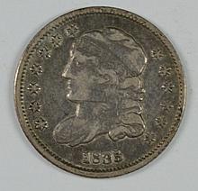 1835 BUST HALF DIME VF/XF