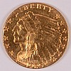 1925-D $2.5 GOLD INDIAN MS-63