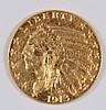 1913 $2.50 GOLD INDIAN CHOICE BU