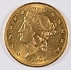 1904 $20 GOLD LIBERTY GEM BU EXCELLENT EYE APPEAL