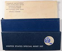 1965,1966 AND 1967 U.S.  SPECIAL MINT SETS IN ORIGINAL PACKAGING