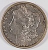 1903 MORGAN SILVER DOLLAR, AU-58