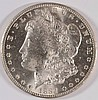 1884-CC MORGAN SILVER DOLLAR, MS-63+  BLAST WHITE!
