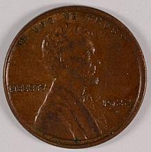 1922-D LINCOLN CENT AU+
