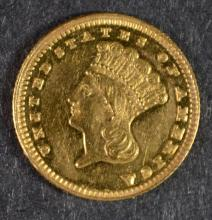 1889 PROOF $1 GOLD EX JEWELRY