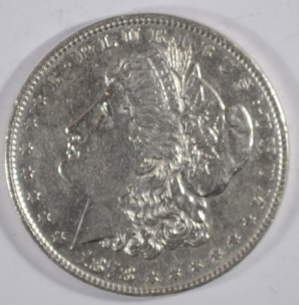 1878  8 feather Morgan $