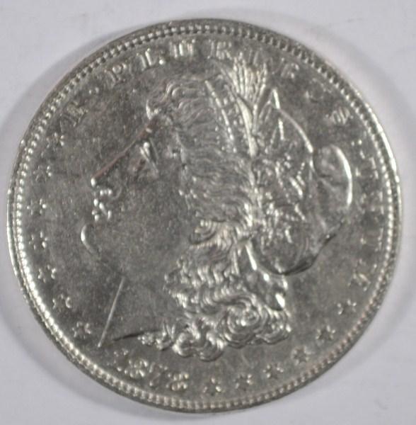 1878 8 feather Morgan $