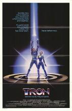TRON POSTER. 1982 ORIGINAL.
