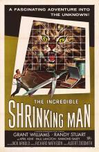 INCREDIBLE SHRINKING MAN POSTER. ORIGINAL 1957.