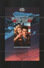 TOP GUN POSTER. ORIGINAL 1986,