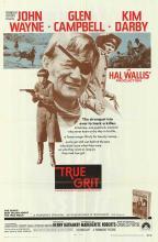 TRUE GRIT POSTER. 1969 ORIGINAL.