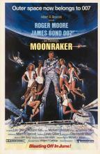 MOONRAKER POSTER. 1979 ORIGINAL.