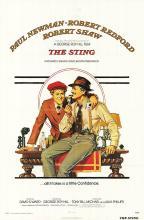 THE STING POSTER. ORIGINAL 1973.
